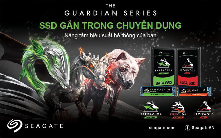 Ổ sứng Seagate SSD